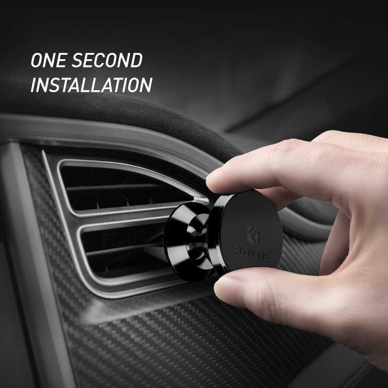 FLOVEME מגנטי לרכב עבור iPhone סמסונג 360 סיבוב מגנט אוויר Vent הר Stand מחזיק עבור טלפון במכונית אוניברסלי
