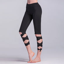 Eshines штаны для йоги Женская Спортивная одежда спортзала пуш