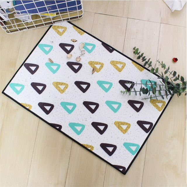 2018 New Fashion Sipmle Nordic Style Door Mat Floor Kitchen Mat Soft Home Carpets For Living : nordic door mat - pezcame.com