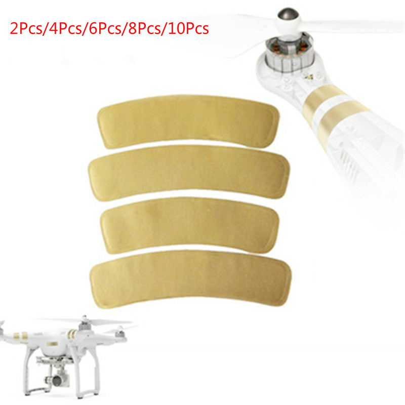 Phantom 3 Accessory Golden Decal Arm Sticker For DJI Phantom 1/2/3 Universal Housing Sticker Phantom 3 Decal 2/4/6/8/10pcs