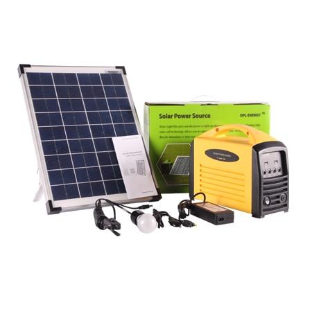 high performance portalbe solar light system for travel use