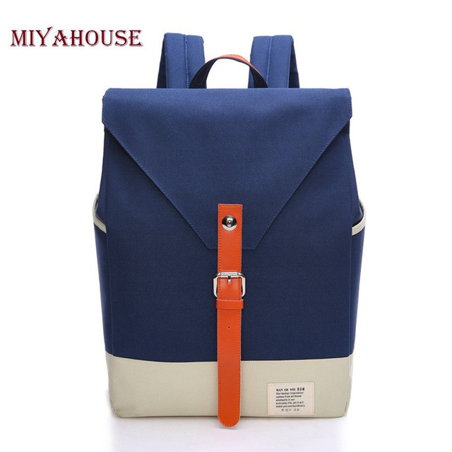 ba5bcd4725 MAN ER WEI Square Shape Oxford Women Backpack Korean Style Girl Backpacks  Teenager School Bag Multifunctional