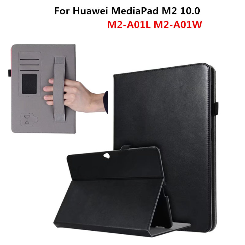 Business Cover PU Leather Protective Tablet For HUAWEI Mediapad M2-A01L M2-A01w Handheld Case For Huawei Mediapad M2 10.0