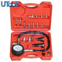 TU 15A Diesel Engine Compression Tester Tool Kit Cylinder Pressure Gauge 0~1000PSI