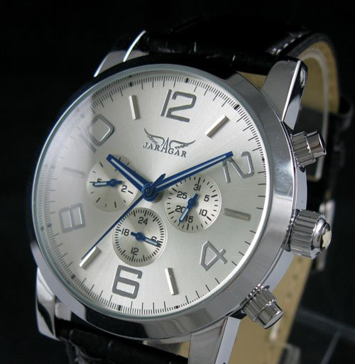 popular swiss automatic watches for men buy cheap swiss automatic swiss automatic mechanical 6 hands leather mens watch ship cool mainland