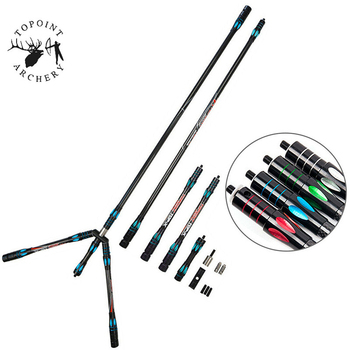"""1Set 30"""" 10"""" 5"""" Archery Carbon Stabilizer Balance Bar Rod System Recurew Bow Damper Absorber For Shooting Hunting Accessories"""