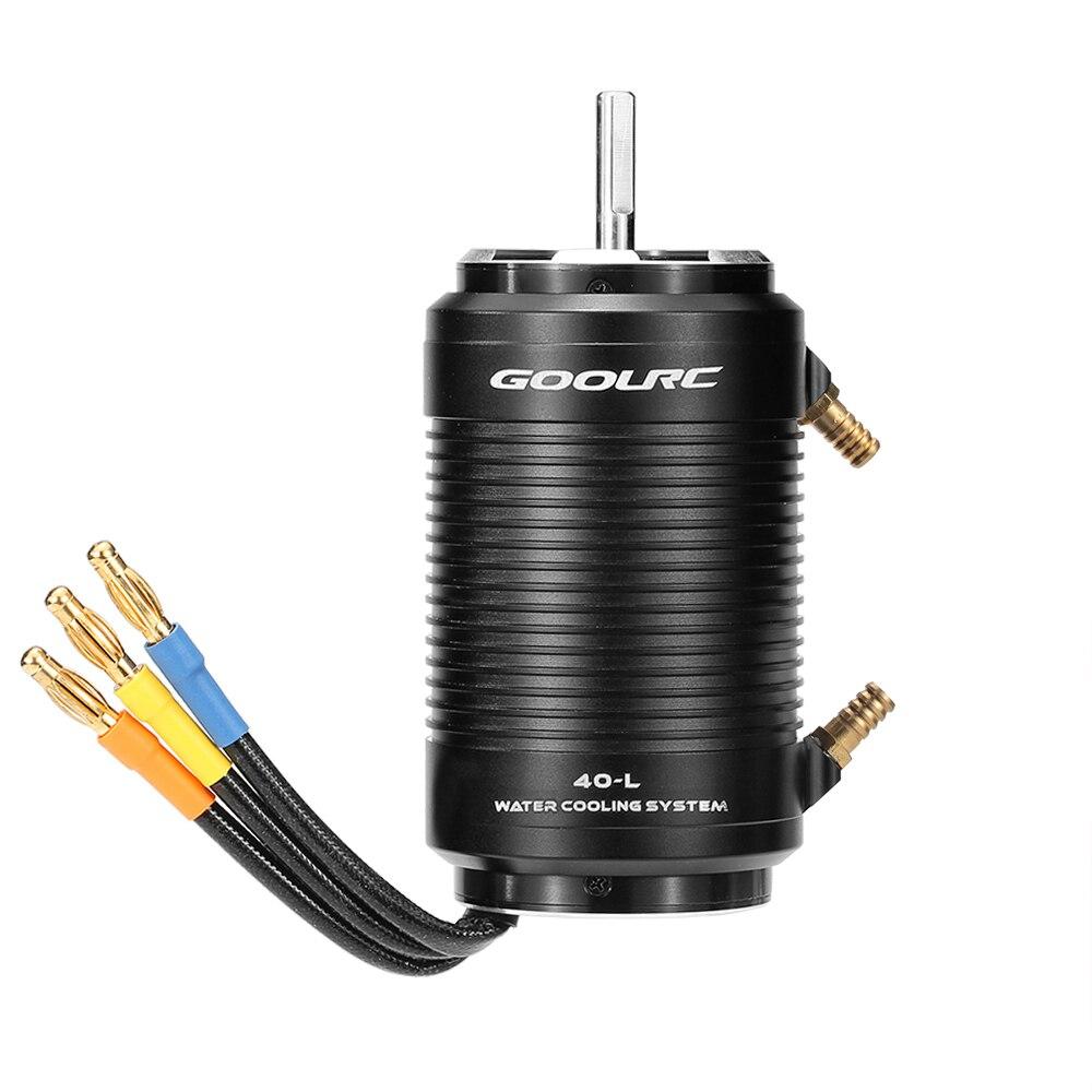 Original GoolRC 4092 1250KV Brushless Motor and 40 L Water Cooling Jacket Combo Set for 1000mm