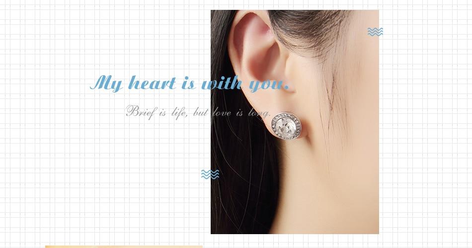 502e1d7fd UMODE Simple Girls Kids Cute Zirconia Stud Earrings Ear Studs Gifts ...