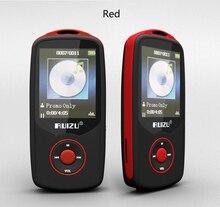 Hot sale! 2016 New Original RUIZU X06 Bluetooth Sports MP3 music Player 4GB 1.8Inch Screen 100hours high quality lossless Record