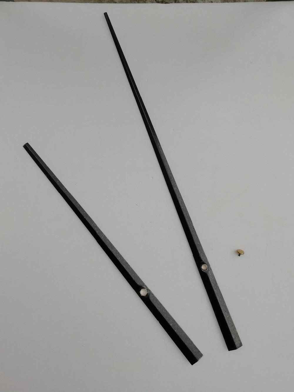 50 PCS Lange Größe Schwarz Metall Uhr Arme mit Zweite Kappe DIY Ihre Große Wanduhr Zubehör-in Uhrteile und Zubehör aus Heim und Garten bei  Gruppe 3