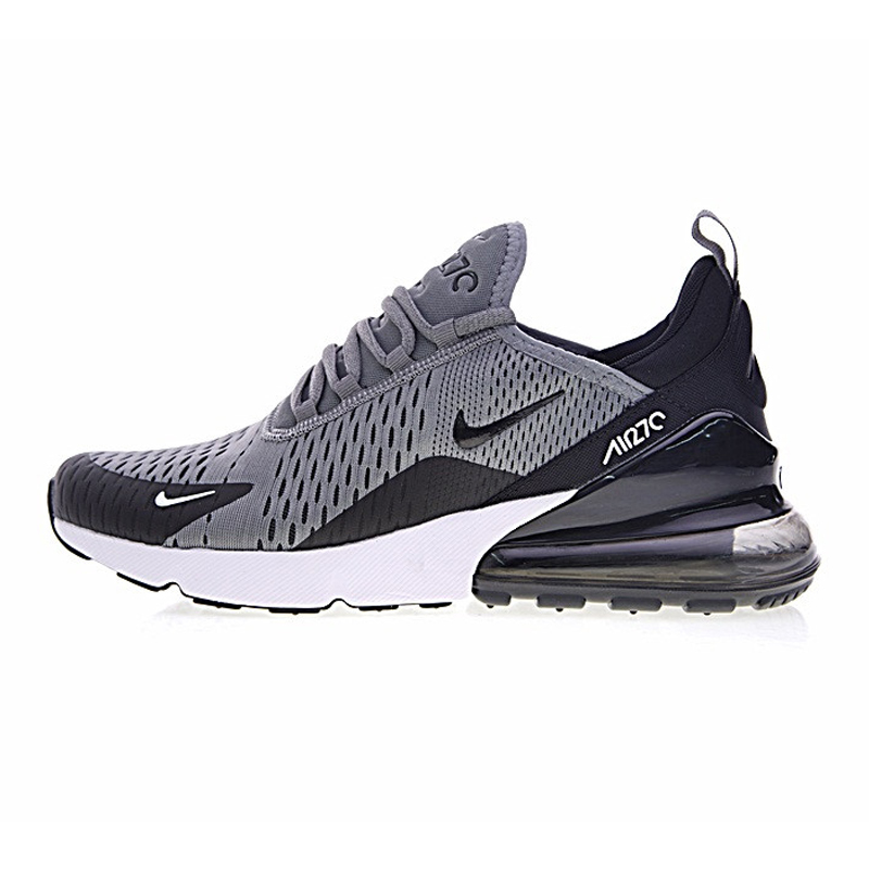 Nike Air Max 270 Men's Running Shoes, Dark Blue Grey, Breathable,Abrasion  Resistant Lightweight AH8050 416 AH8050 003-in Running Shoes from Sports ...