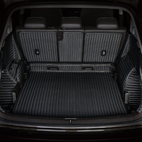 3D Full Covered Waterproof carpets Durable rugs Custom special car trunk mats for Volkswagen EOS UP Polo Sharon C TREK Touareg