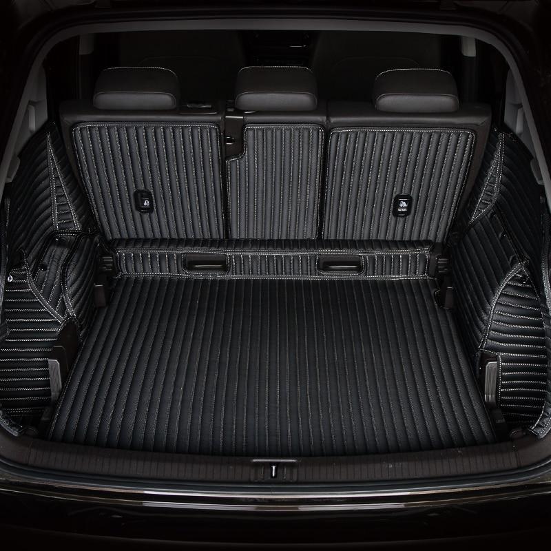 3D Full Covered Waterproof carpets Durable rugs Custom special car trunk mats for Dodge Caravan Caliber Avenger Charger Journey