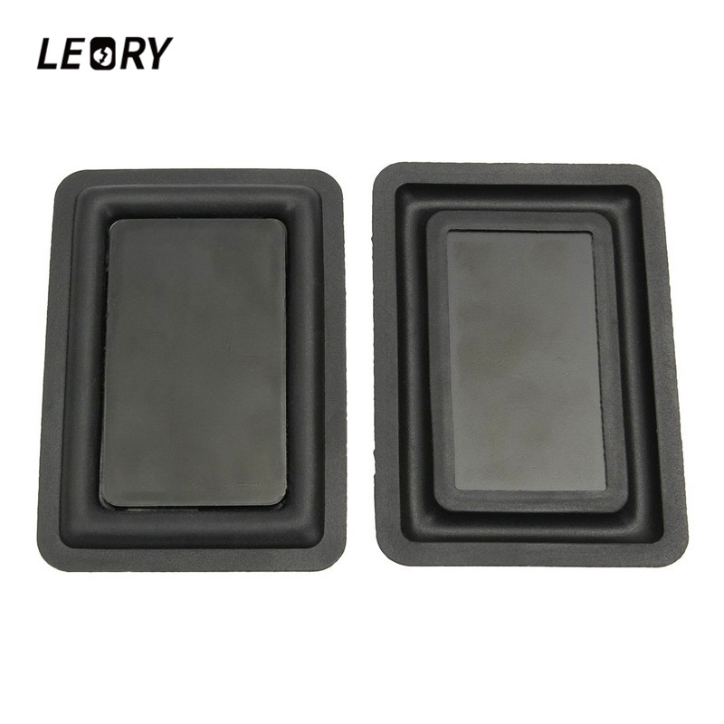 LEORY 2pcs DIY Speaker Low-frequency Radiator Vibration Plate Bass Passive Woofer 60 X90mm