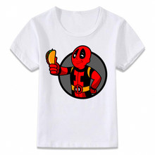 Kids Clothes T Shirt Fallout Vault Boy Deadpool Attack on Titan Funny Children T-shirt for Boys and Girls Toddler Shirts Tee(China)
