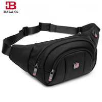 BALANG Brand Casual Men S Waist Bag Phone Trendy Small Shoulder Bag For Men Boys Fashion