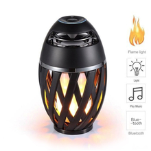 Flame Lamp LED Bluetooth Speaker Portable Wireless Stereo Realistic Dancing Flames Speaker Outdoor Loudspeaker цена и фото
