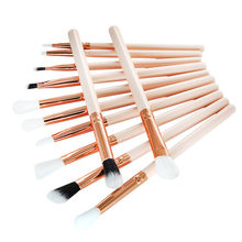 12 Pcs Makeup Brush Set Professional Face Eye Shadow Eyeliner Foundation Blush Pincel Maquiagem Pinceaux Maquillage(China)