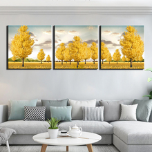 HD Print 3 Pieces Canvas Art Decoration Pictures Abstract tree Posters Painting Wall Home for Living Room