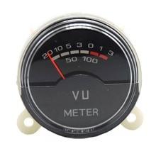 P-40SA VU meter DB Amp Level Header Level Audio Meter With Blue LED Backlight precision vu meter level meter peak db table audio volume unit indicator panel
