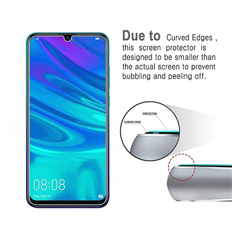 Image 4 - 2PCS Screen Protector For Huawei P Smart 2019 Glass Ultra Thin 9H Hardness Tempered Glass For Huawei P Smart 2019 Phone Film 6.2-in Phone Screen Protectors from Cellphones & Telecommunications