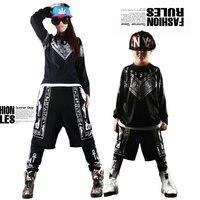 New Fashion Brand Harem Pants Women Kids Hip Hop Dance False Two Pieces Sweatpants Stage Performance Wear Jazz Trousers