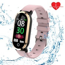 TOT T1 Smart Wristband Unisex Fitness Tracker Heart Rate Blood Pressure Monitor Watch Pedometer Sport  Bracelet  for IOS Android