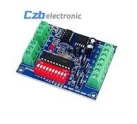 4CH 4 Channel RGBW Easy Dmx512 DMX Decoder Dimmer Controller Driver DC5V 24V For LED Strip