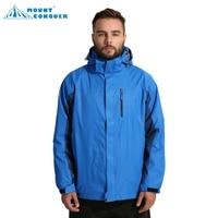 Новый Для мужчин Спортивная куртка для кемпинга лыжный поход зимой на открытом воздухе softshell Куртки Водонепроницаемый ветровка Термальнос