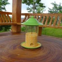 European style wild bird feeder Outdoor bird feeders food container