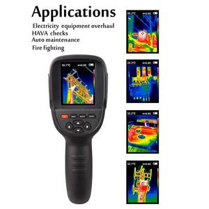 Image 5 - 2020 Hti 18 el IR termal görüntüleme kamerası dijital ekran yüksek kızılötesi görüntü çözünürlüğü termal kamera 25 ila 450 derece