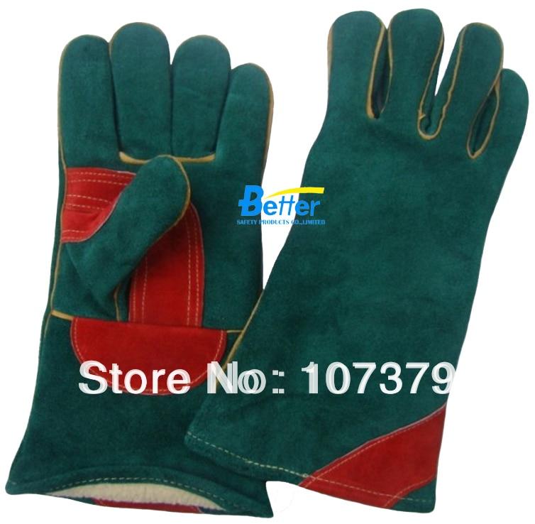 Work Glove Leather Welding Safety Gloves TIG MIG Work Gloves Warm Winter Welder Glove welder machine plasma cutter welder mask for welder machine