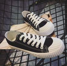 Nouveau style de mode Ulzzang hommes toile amants chaussures plate-forme casual respirant chaussures hommes de dentelle up causalité chaussures pour hommes 8517