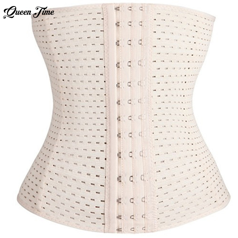 5XL Slimming Corset Waist Trainer Cincher Girdles Body Shaper Women Postpartum Belly Band Underbust Tummy Control Hot Tops