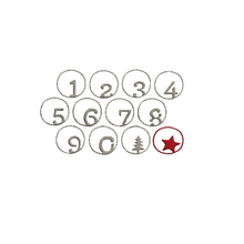 Small Circle Numbers Tree Star Metal Cutting Dies For DIY Scrapbooking Embossing Paper Cards Making Crafts New 2019 Diecuts