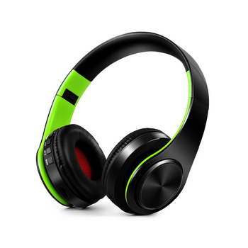 Free Shipping Wireless Bluetooth Headphone Stereo Headset Music Headset Support SD Card with Mic for Mobile Ipad 2