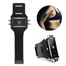 цена на Sport Armband For Size 3.5'' To 6'' Sports Cell Phone Holder Running Phone Armband Moblie Phones Hand Bag Sports Sling On Hand