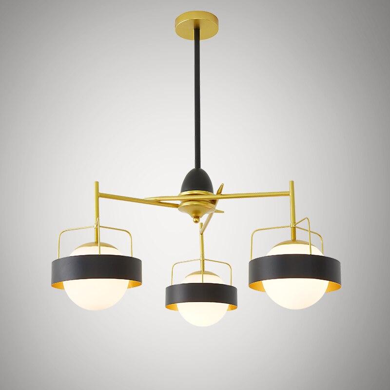 Modern Glass Ball Pendant Lights Lampshade Pendant Lamp