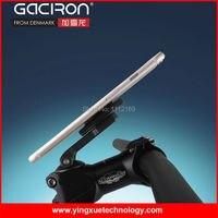 GACIRON Magnétique Vélos Mont Téléphone Titulaire Souches Cap Holder Support Vélo De stand Berceau avec Bracelet En Caoutchouc pour tous les Téléphones Intelligents