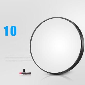 Gorący sprzedawanie lustro do makijażu 5 10X powiększające okrągłe lustro z dwoma przyssawkami narzędzia kosmetyczne okrągłe lustro powiększenie tanie i dobre opinie Nie posiada Lusterko do makijażu 8 8CM CCY141
