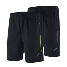 Arsuxeo Summer Men s Running Shorts Black Breathable Crossfit Fitness Gym Soccer Tennis Workout Training Sports