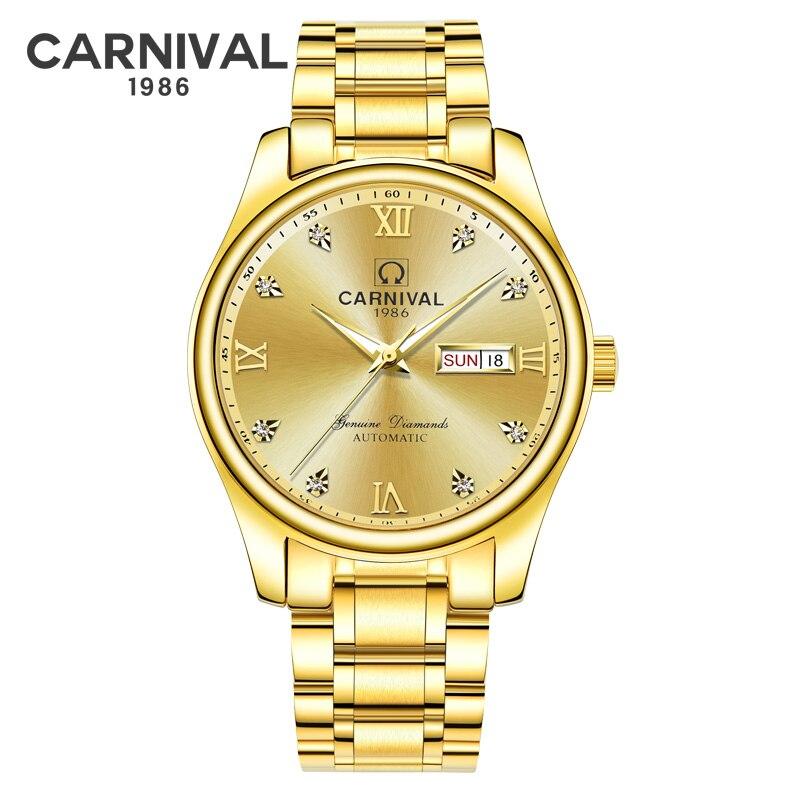Роскошные большие настенные часы скандинавские золотые настенные часы для спальни немой гостиной современный Zegar Scienny подарок идея часы ме... - 6