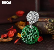 S925 sterling silver jewelry beautifully carved Citroen Health sweater pendants