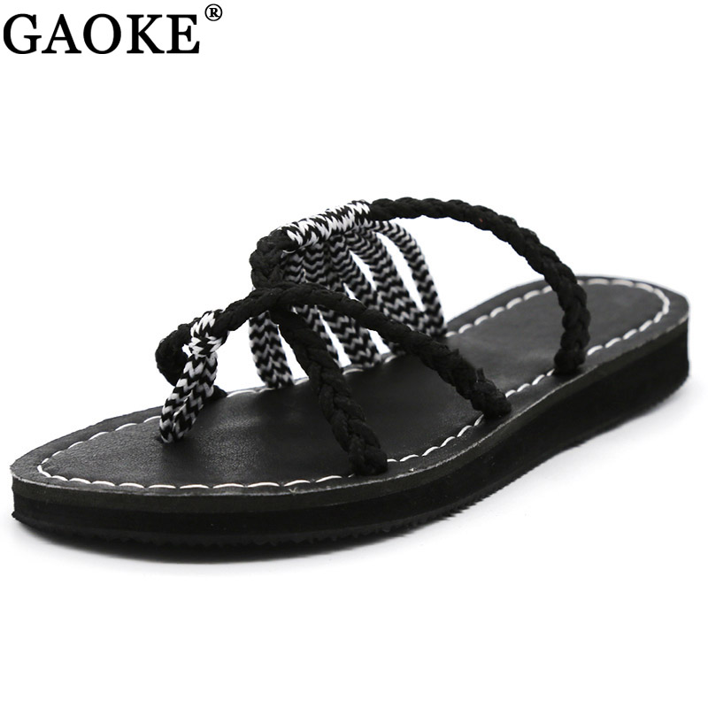 Women Sandals Size 35-43 Summer Shoes Woman Mix Color Flip Flops 2018 New Summer Female Shoes Beach Flat Sandals Zapatos Mujer women sandals fashion tassel summer shoes woman size 35 43 flat sandals metal decoration casual shoes female flip flops sandales