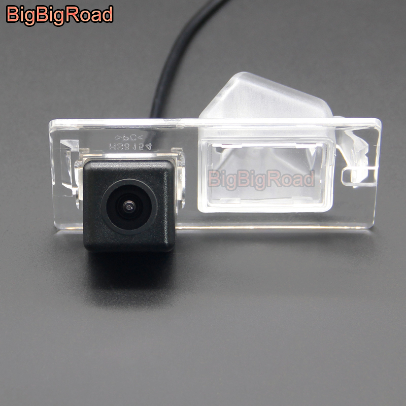 BigBigRoad Car Rear View Parking Backup Camera For Fiat Freemont 500 500C 500S Abarth 2007-2015 Dodge Journey JCUV 2010-2016