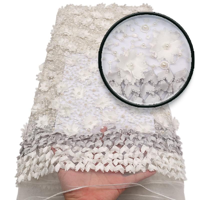 Visokokvalitetna ručno rađena čipkasta tkanina, šampanjac zlato - Umjetnost, obrt i šivanje - Foto 5
