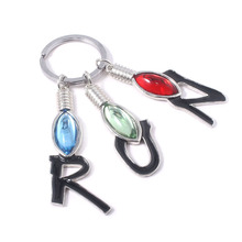 New Stranger things 3 Keychains Letter RUN Color Women Multi-element decoration llaveros Souvenir Car Keychain elsadou stranger things vinyl action figure and keychain
