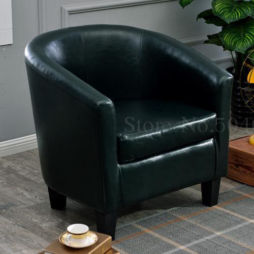 Европейский тканевая одноместная Софа стул интернет кафе кофе небольшой диван гостиничная комната кабинет компьютерный диван стул - Цвет: VIP 26