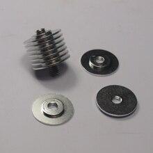 SWMAKER 10pcs/set Reprap M6 threaded heat sink washers for DIY 3D printer all metal hot end aluminum alloy