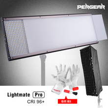 Pergear светодиодный свет Панель lightmate Pro CRI 96 + 87 Вт 1440 3200 ~ 5500 К dimmable плоский панель студийный свет с мягкий комплект окно